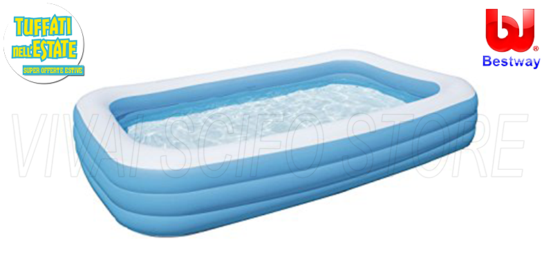Acquista online piscina bestway gonfiabile cm 305x183x56h for Piscine gonfiabili on line